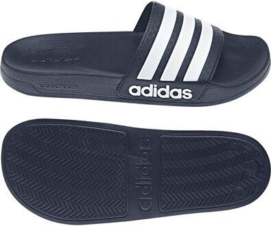 aa01b099907 adidas - Cloudfoam Adilette - Sportieve slippers - Heren - Maat 39 - Blauw  - Collegiate Navy