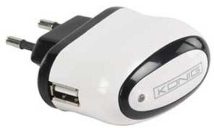 Konig König - USB thuislader - Wit
