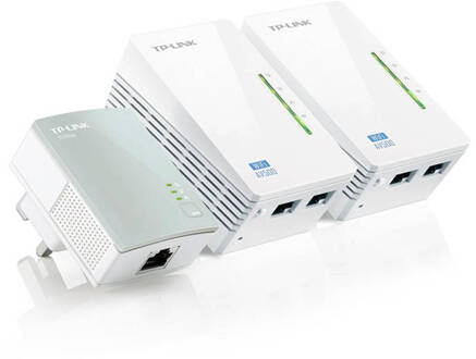 TP-Link TL-WPA4220TKIT WiFi 300 Mbps 3 adapters