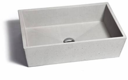 Wastafel Van Beton : Urbi et orbi opzet wastafel conicis beton cm kleuren