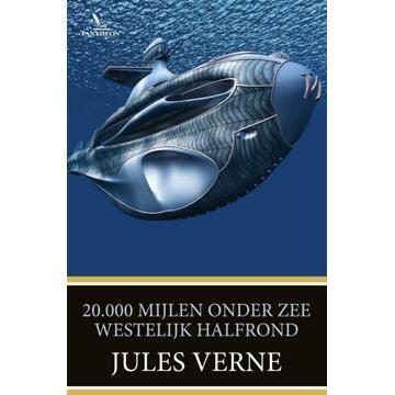 Pantheon 20000 Mijlen Onder Zee Oostelijk Halfrond Boek Jules