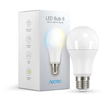 Aeon Labs AEOTEC LED Bulb 6 Multi-White E27