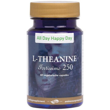 alldayhappyday L-theanine 250 mg 60 Vegacaps