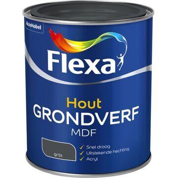 Flexa Mdf Grondverf Grijs 750 ML